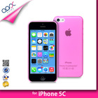 ULTRA THIN BACK COVER FOR IPHONE 5C - TPU PP SOFT CASE