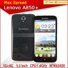 5.5 inch lenovo a850+ mkt6592v 1.4ghz octa core 1gb ram 4gb rom touch screen gsm cdma mobile phone