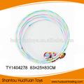 La parte superior& colorido luz de plástico del aro del hula