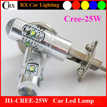 New launcedLess than 1% defective 10V-30V H1 H3 H8 H11 H4 H7 H13 9005 9006 16PCS cree 25w cree h3 car fog lamp