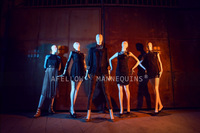 AFELLOW Abstract New Arrival Abstract Female downs Mannequin High Grade Fashion Full Body Fiberglass Female Dummy