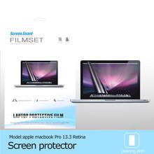 Transparent Laptop Skin Protector for Macbook Pro Retina