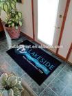 soft touch jet print design carpet rubber back