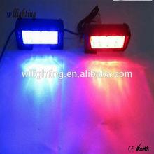 High power Led Emergency Light Bar 12V 8 LED Strobe Light Car Flashing Emergency Warning Lights Bar