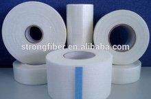 Adhesive fiberglass tape; waterproof material fiberglass mesh tape