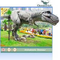 Life-size animatronic mechanical dinosaur T-Rex