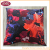 popular beautiful decorative floral promotional soft cushion cover