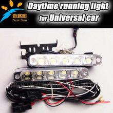 Universal for all car 10W 12V high power led flexible drl daytime running light, 2014 cheapest price aluminium led drl fog light