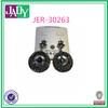 Fashion Gunmetal Alloy Earrings Crystal Earrings