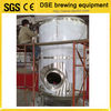 insulated CIP arm and rotary spray ball SUS 304 fermentation tanks for sale