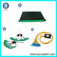 fiber plc splitter modules 2.0 ABS passive optical splitter