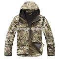 A prueba de agua exterior CP camo militar de la chaqueta del softshell para hombre