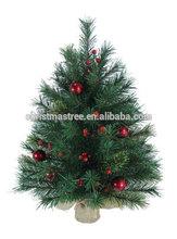"Darice Artificial ""Tabletop Pine Canadian Christmas Tree Burlap Base - 12 Inch"""