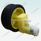 low speed 3v 6v dc electric car wheel motor