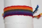 Friendship Bracelet WRISTBAND Cotton Silk Rainbow Surfer Hippy Boho