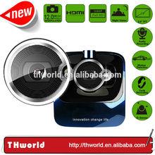 1080P HD 2.4 inch LCD mini hidden car dvr camera G-Sensor Dash Cam