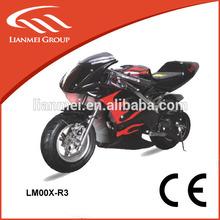 2-stroke kids motorcycle 49cc mini kid pocket bike pull starter