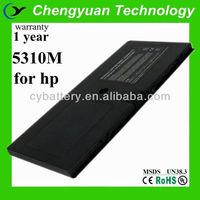 14.4V 2800mAh external backup battery for laptop, for hp 5310m