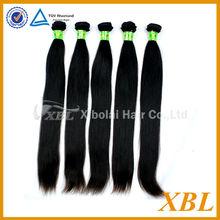 XBL elegant Burmese hair 5A+ grade best type human hair extensions