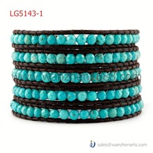 LG5143-1B Bracelet With Cross Wraps Cross Bracelets