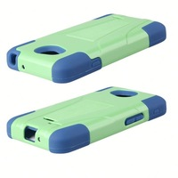 Direct factory price silicon pc combination for lg optimus l70 2 in 1 cellphone case for lg l70