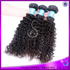 China brazil store fashion china hairpieces virgin tangle free kinky curl sew in hair weave