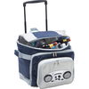 High quality trolley picnic cooler bag with radio for food