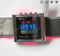 led light machine wrist watch blood pressure monitor