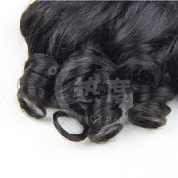 wholesale 3pcs Per Lot Fashion Style Natural Looking 100% Virgin Romance Curl Human Hair