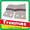 Expandable tissue lined in foil lens paper envelope
