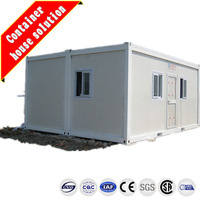 luxury foldable prefab container houses and villas