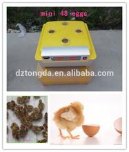 Chicken machines egg incubator/fish hatchery 48 eggs/pigeon accessories