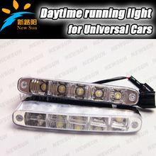 Wholesale price 100% Waterproof Car Daytime running light LED DRL Daylight 7000K White 12FV DC Head lamp Back up light
