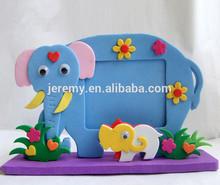 DIY toy for children promotional gift EVA foam photo frame