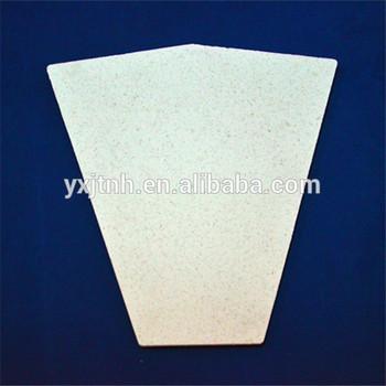 Refractory ceramic fiber board for furnace