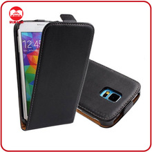 RF Manufacturer Luxury Ultra Slim Top Leather Vertical Magnetic Flip Cover for Samsung Galaxy S5