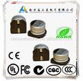 10 V 1000 uF viruta condensadores electrolíticos de aluminio para Rf transmisor receptor en el bloque de comunicación