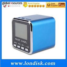 New Music Angel Mini USB LCD MP3 Player Speaker FM TF Card JH-MD08D