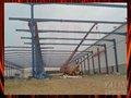 2014 nueva estructura de acero diseño de la bóveda del marco del espacio cobertizo