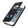 OEM Premium Leather Case for Apple iPhone 5/5S -- Dijon V (Prestige Black)
