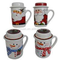Christmas ceramic mug with special design