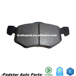Used cars for sale in germany china maximum life, good braking efficiency France car Peugeot/Citroen auto disc brake pad D843