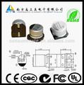 6.3 V 22 uF viruta condensadores electrolíticos de aluminio para Motor del huso en HDD