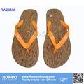 Bois texure flip flop fabricant/fantaisie. tongs/pantoufles sandales flip flop