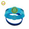 Customized RFID Adjustable Silicone Wristbands Individual Bio rubber bracelet