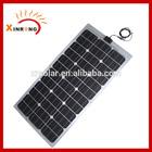 75W flexible amorphous silicon solar panel