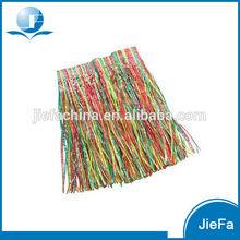 Multi Coloured Hawaiian Luau Hula Grass Skirt New
