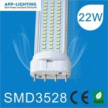 China manufacturer 2G11 LED PL tubes CE/ROHS certificates 2G11 LED light 22w