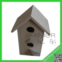Wholesale Indoor Decorative Wooden Bird House,Flat Pack Wooden Bird House,Eco-friendly Wooden Bird House