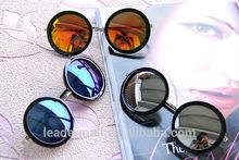 Wholesale Unisex Hippie Shades Hippy 60S John Lennon Style Vintage Round Peace circle Sunglasses sg096